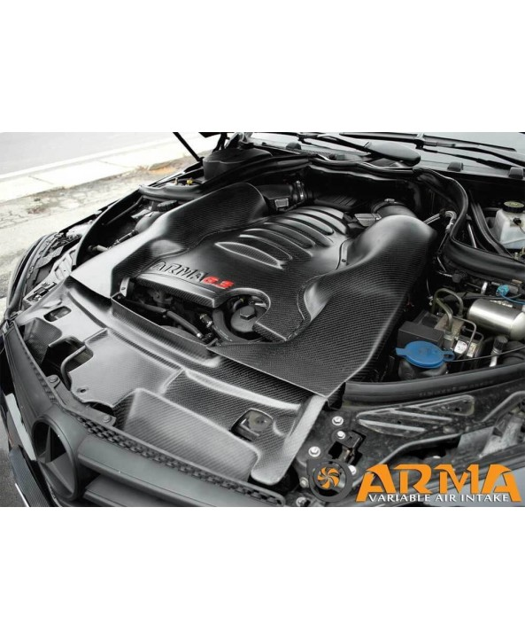 C63 Arma Carbon Matt Intake Kit - w204