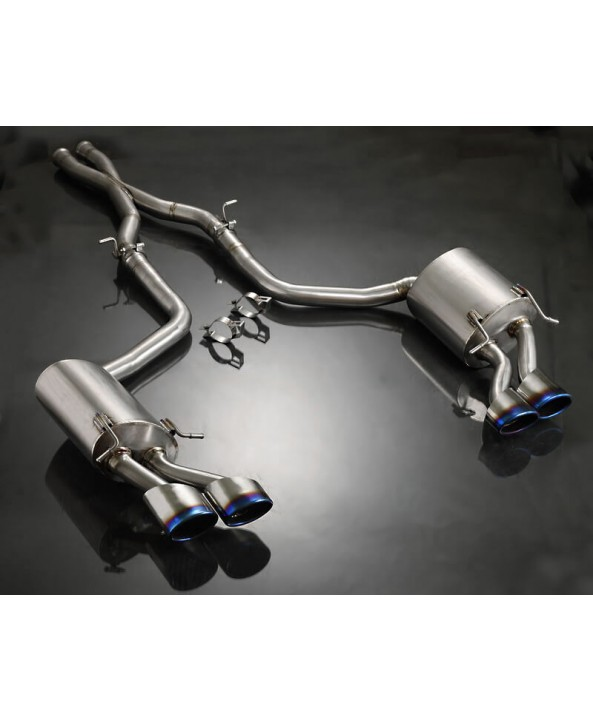 Agency Power Titanium Catback Exhaust Mercedes C63 V8 W204 Sedan