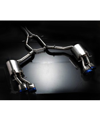 Agency Power Titanium Catback Exhaust Mercedes E63 V8 W212 Sedan