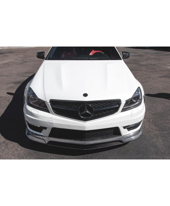 Agency Power Carbon Fiber Front Lip Mercedes-Benz C63 AMG W204 12-14