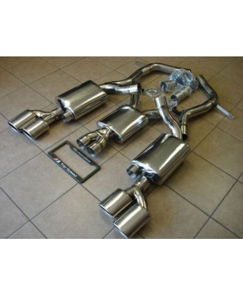 Top Speed Stainless Steel Dual Catback Exhaust