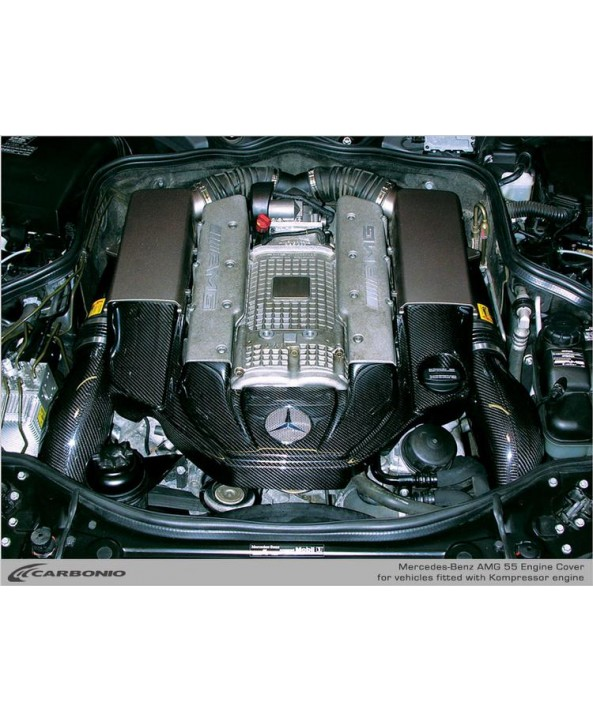 Carbonio Carbon Fiber engine Cover