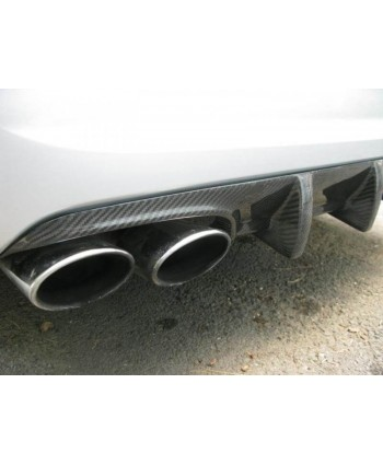 VRP W211 Carbon 4 Fin Diffuser - DISCONTINUED, SOLD OUT