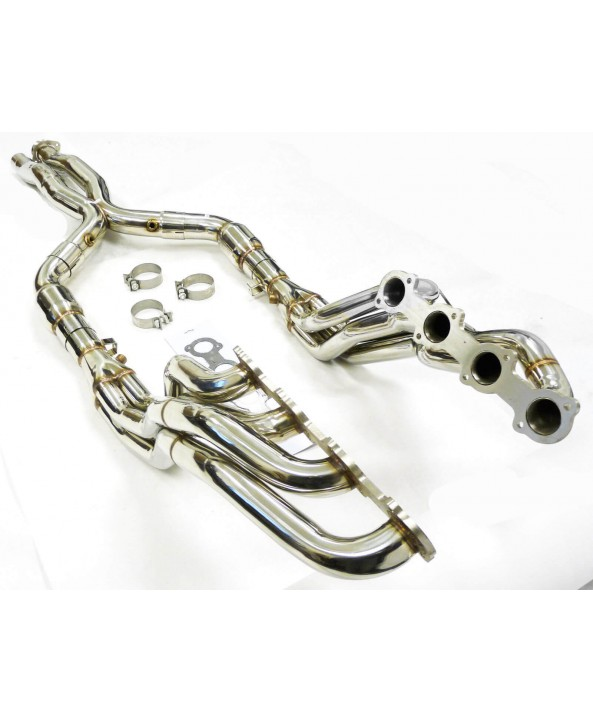 E55/CLS55 Becker Long Tube headers
