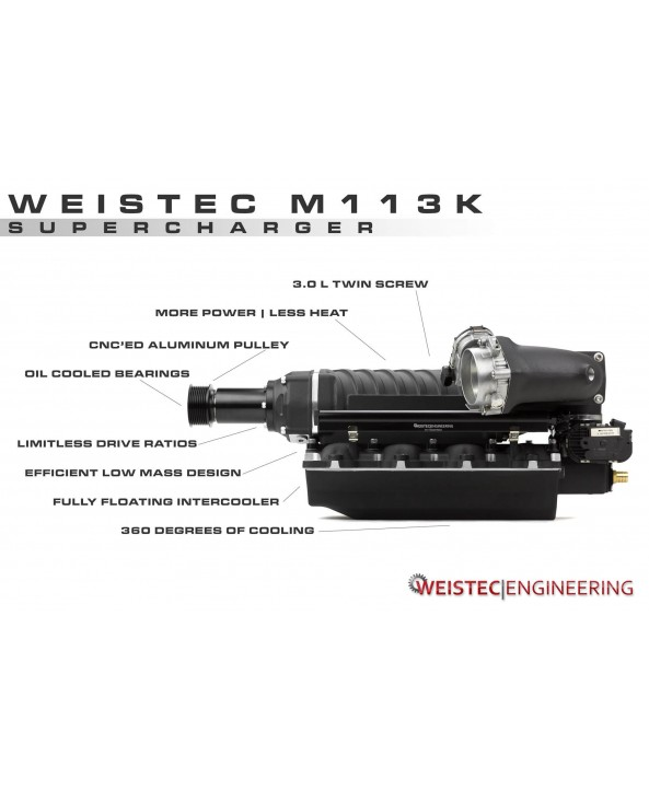 "Weistec M113K Supercharger System ""Tuner Kit"""