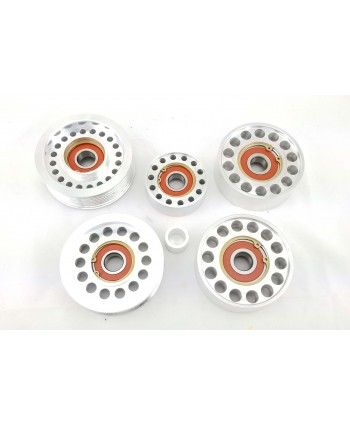 5 Piece Idler Pulley Set